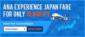 ANA Experience JAPAN Fare