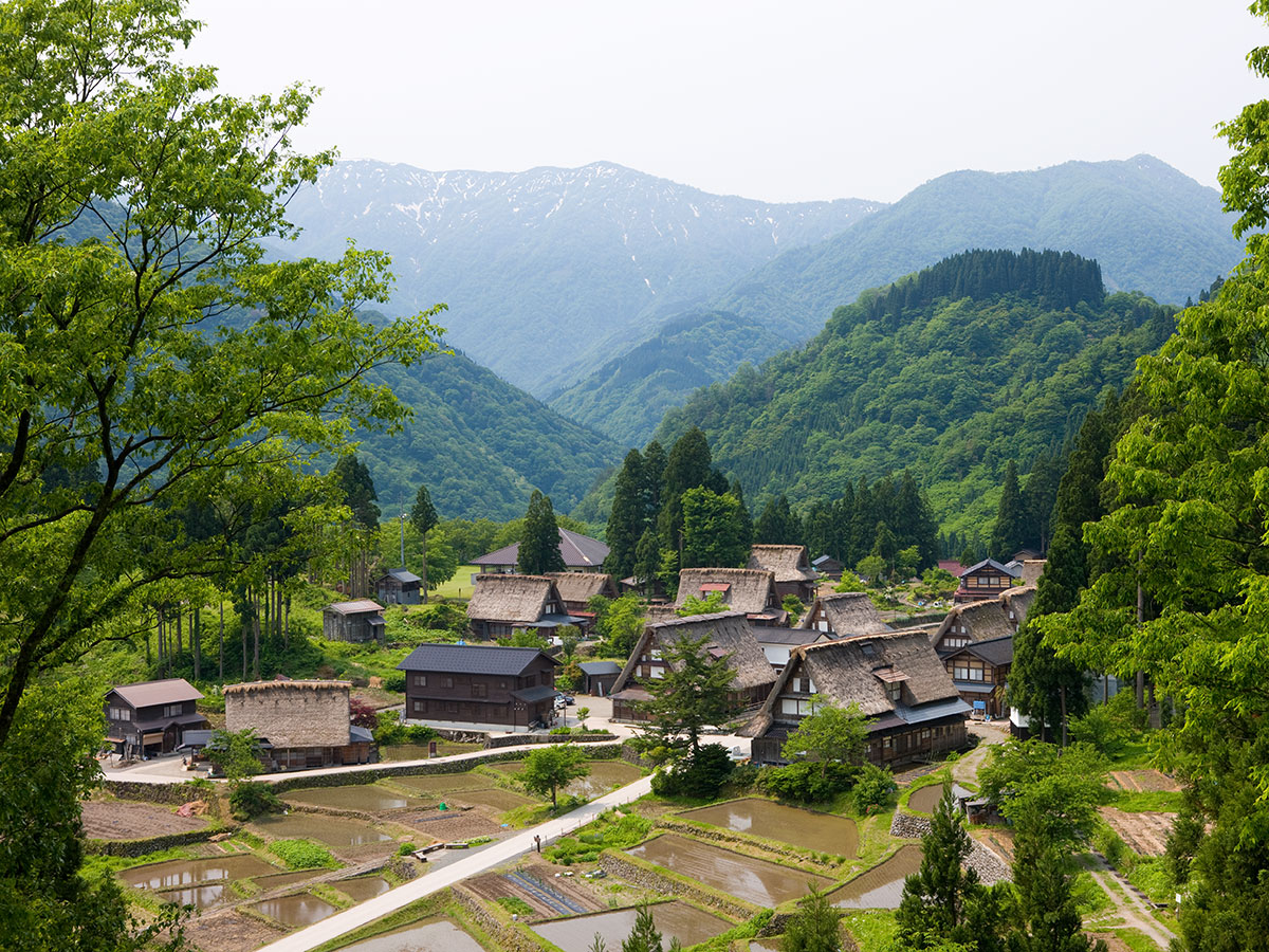 Historic village of Gokayama_1