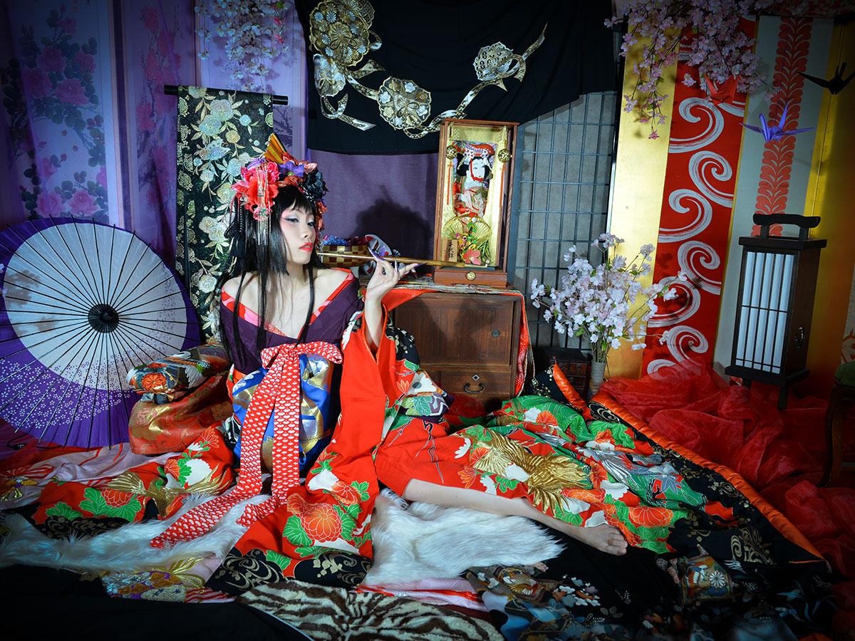 "Gotokuya Jube  Sesión fotográfica (estilo ""Geisha"")_2"