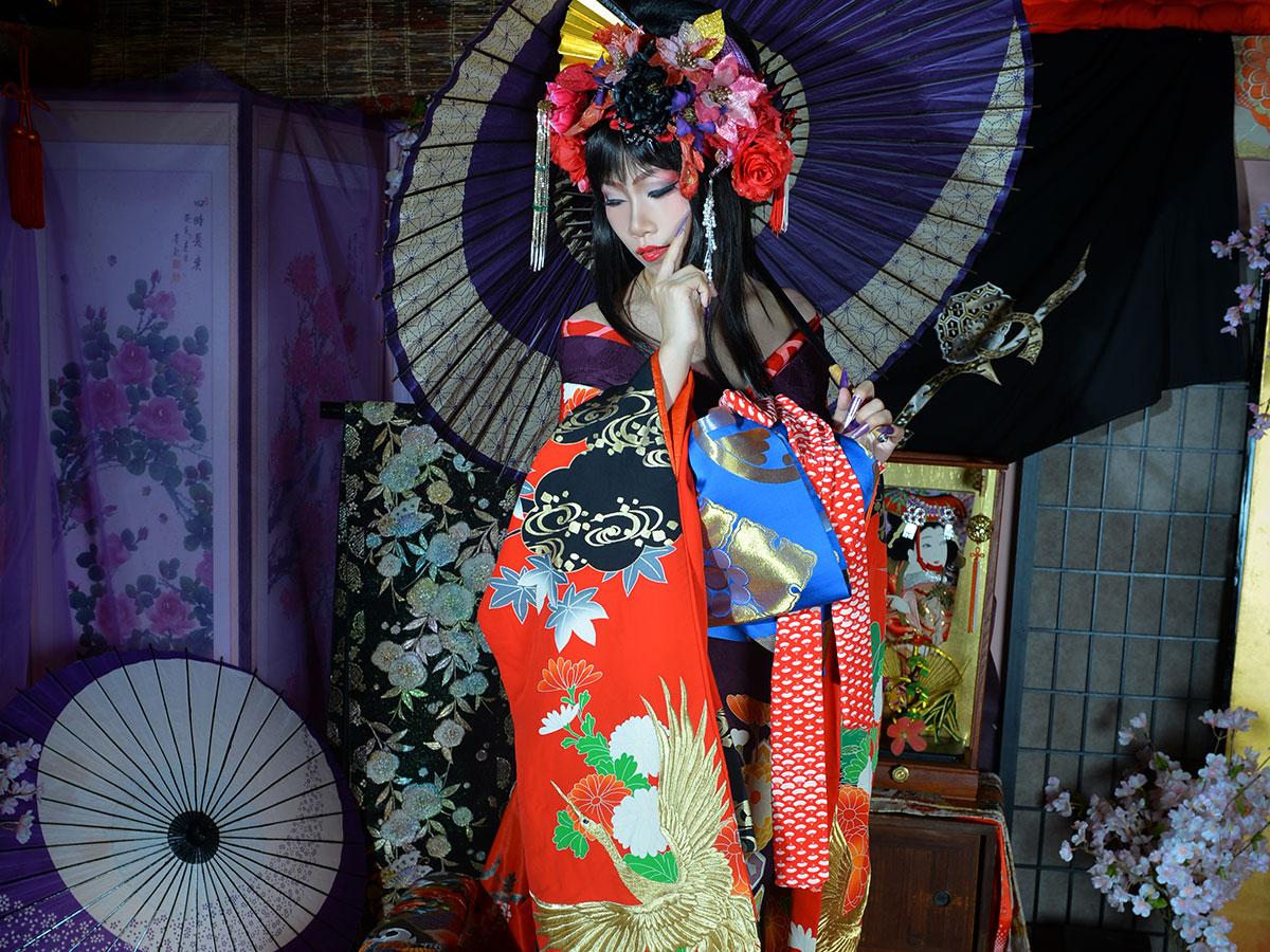 "Gotokuya Jube  Sesión fotográfica (estilo ""Geisha"")_4"