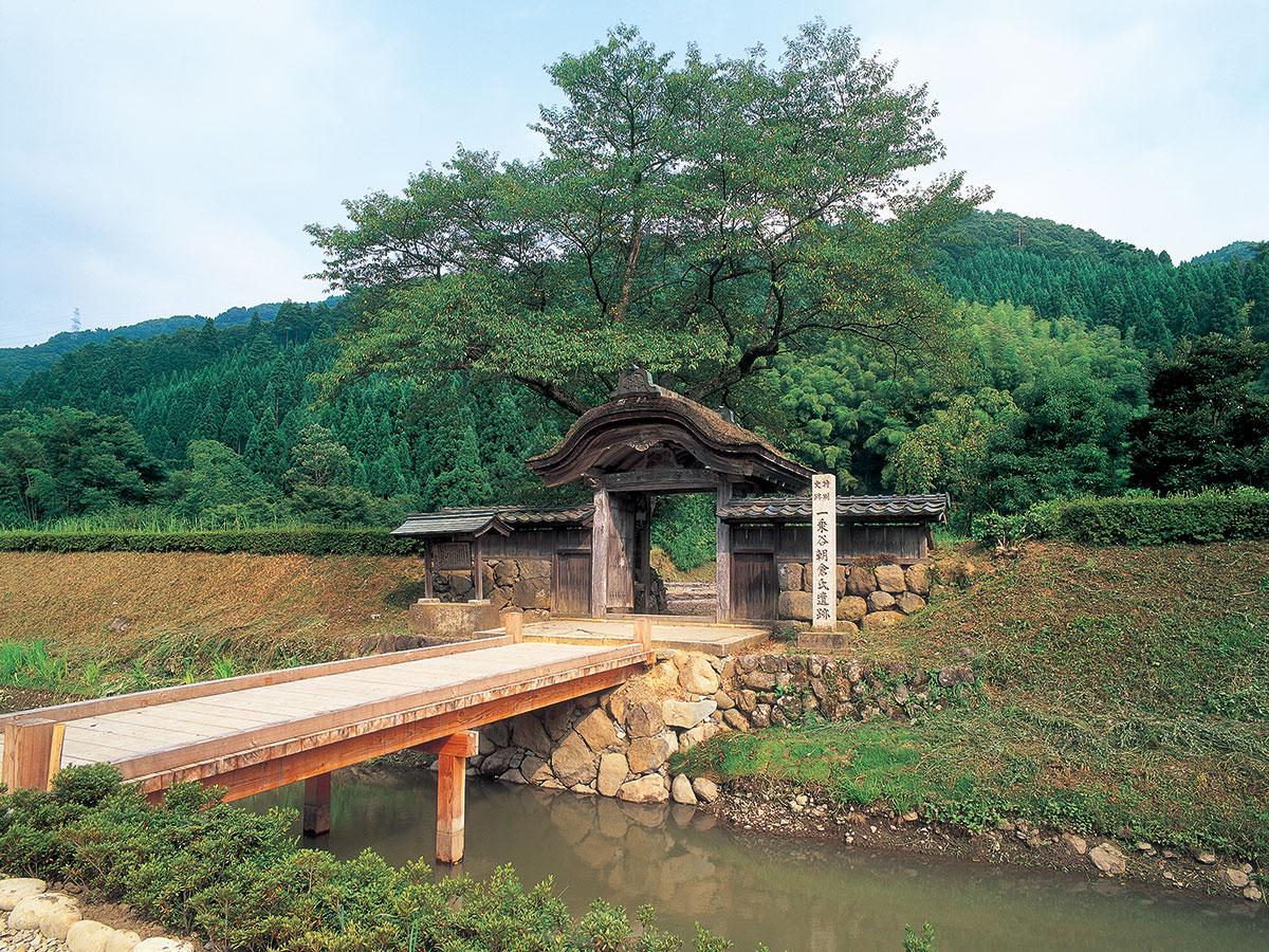 Resti del castello del clan Ichijodani di Asakura_1