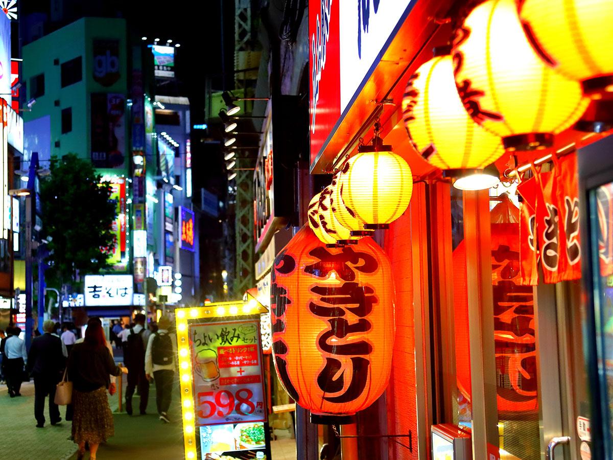 All'izakaya (pub stile giapponese) nel quartiere di Kanda_1