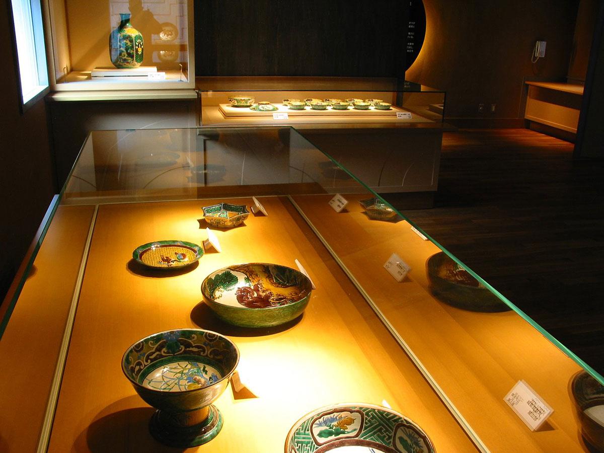 Kutaniyaki(Musée d'art Kutaniyaki de la préfecture d'Ishikawa)_3