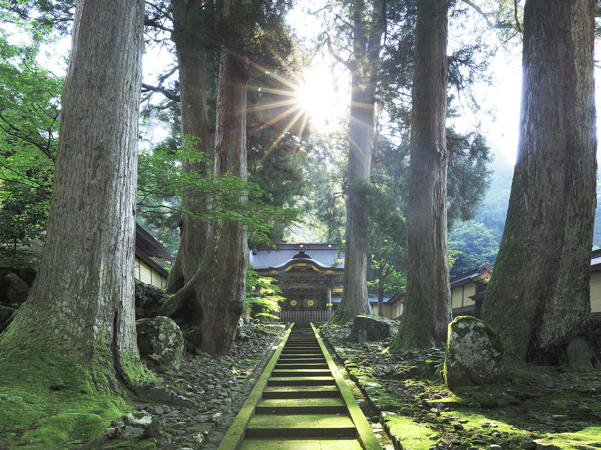 El Principal Templo Budista Eihei-ji