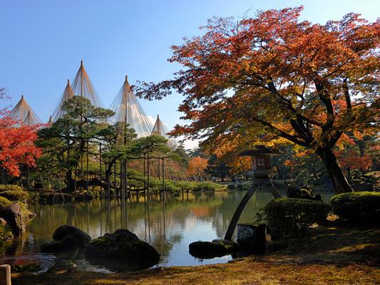 Kenrokuen-Garten