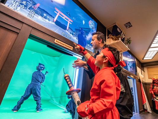 VR Ninja Dojo