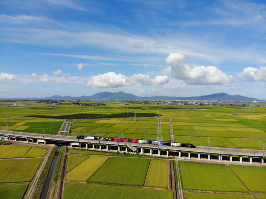 Genbi Shinkansen (art viewing, countryside tour & light dining train excursion)_2