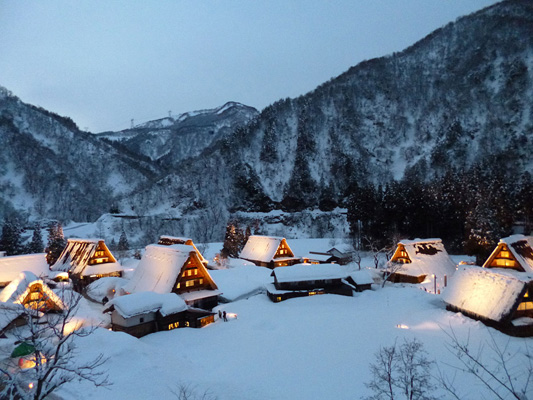 Gokayama Gassho-style village_3