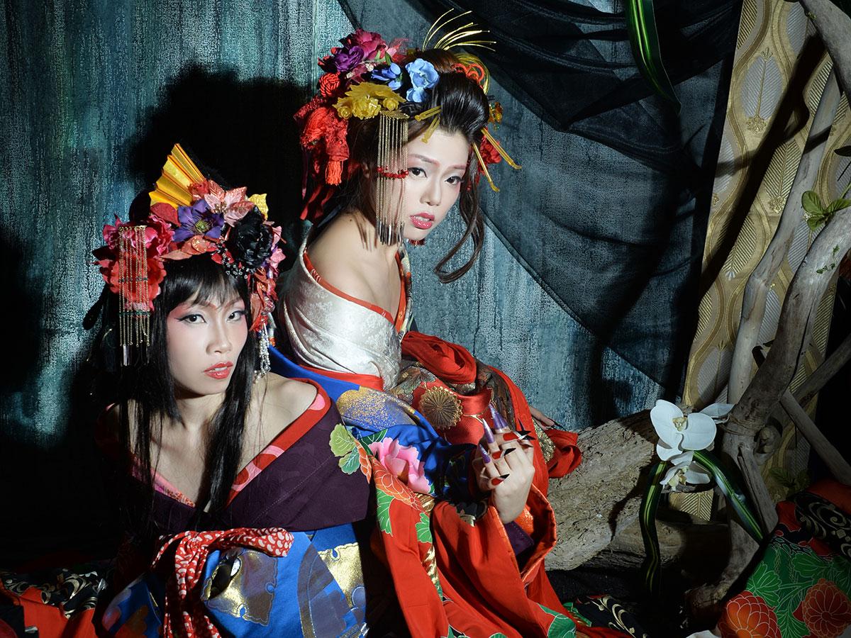 "Gotokuya Jube  Sesión fotográfica (estilo ""Geisha"")_3"