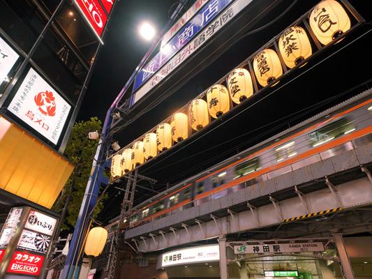 All'izakaya (pub stile giapponese) nel quartiere di Kanda_3